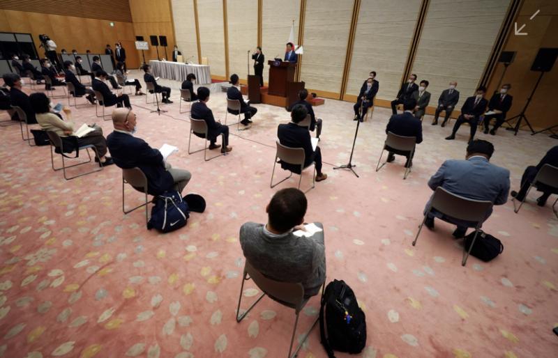 Japão prorrogou o estado de emergência no país até o fim de maio