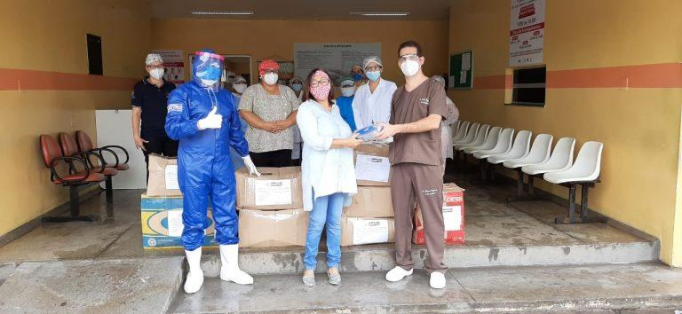 Hospitais de Parintins recebem doação de kits de EPI's da Fametro