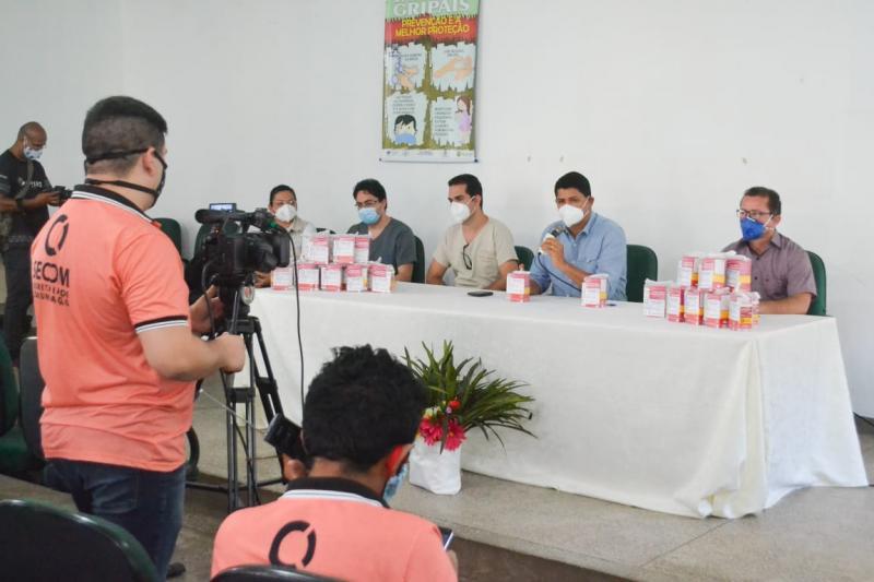 Prefeitura de Parintins entregará kits de medicamentos a pessoas positivadas com coronavírus