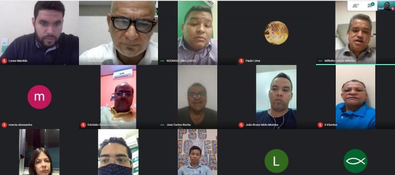 Direção regional do PSC adota videoconferência para levar informação às lideranças no interior