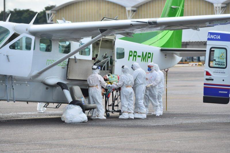 Amazonas ultrapassa 30 mil casos de Covid-19; recuperados somam 24 mil