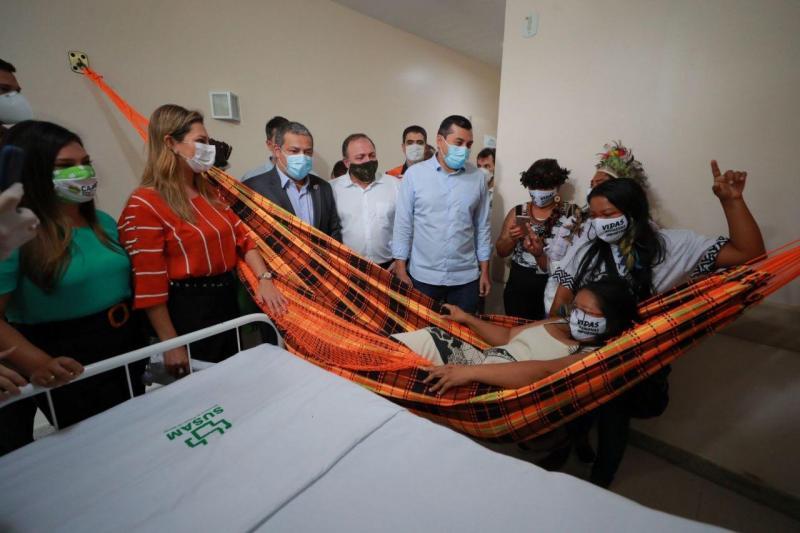 Amazonas inaugura primeira ala indígena para tratamento de Covid-19 do Brasil