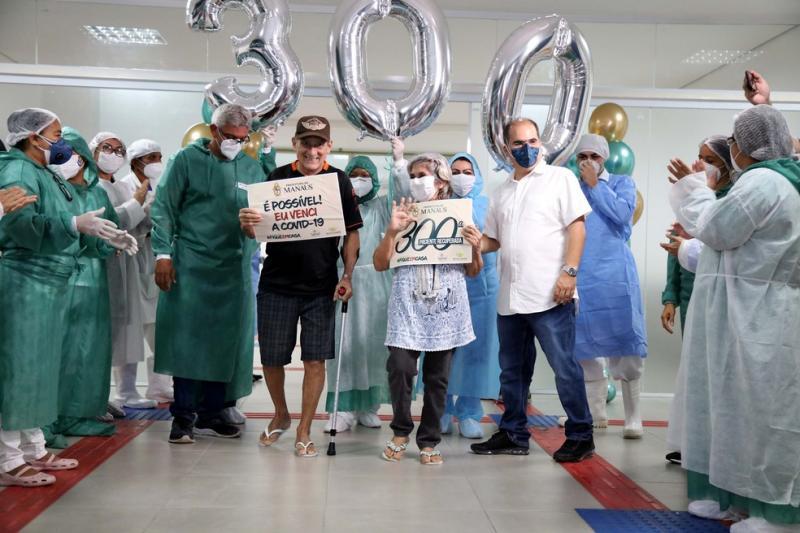 Mais de 25 mil pessoas já se recuperaram da Covid-19 no Amazonas