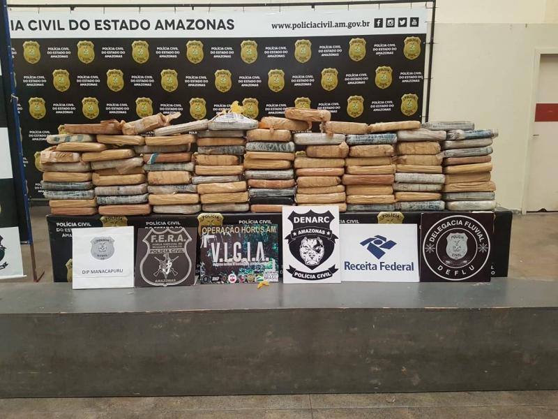 Polícia Civil apreende R$ 500 mil em maconha que vinha de Tefé para Manaus