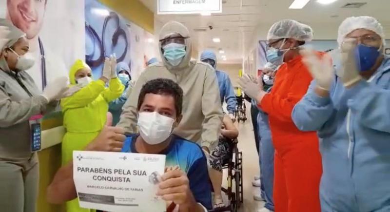 Covid-19: Hospital Delphina Aziz registra 15 altas em um dia