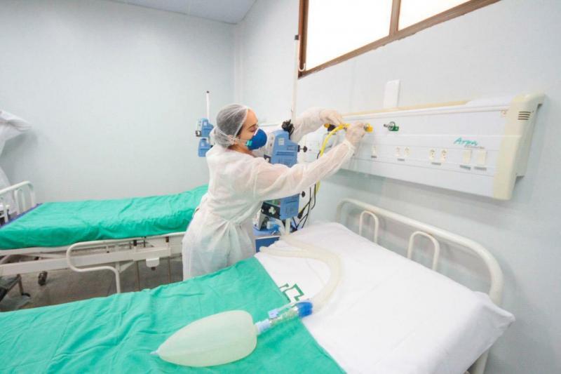 Número de pacientes internados por Covid-19 no Amazonas reduziu até 50% em maio, aponta FVS-AM