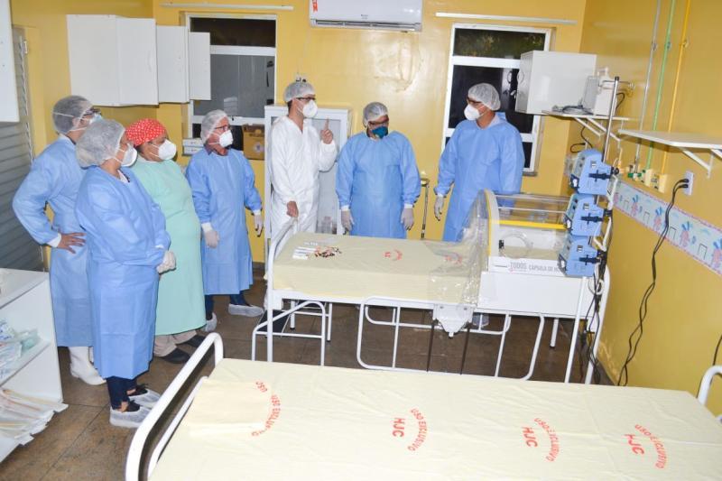 Prefeitura de Parintins inaugura ala com novos leitos no hospital Jofre Cohen
