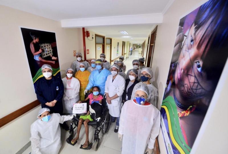 Deputado destaca trabalho da equipe de saúde da Ala Indígena do Hospital Nilton Lins