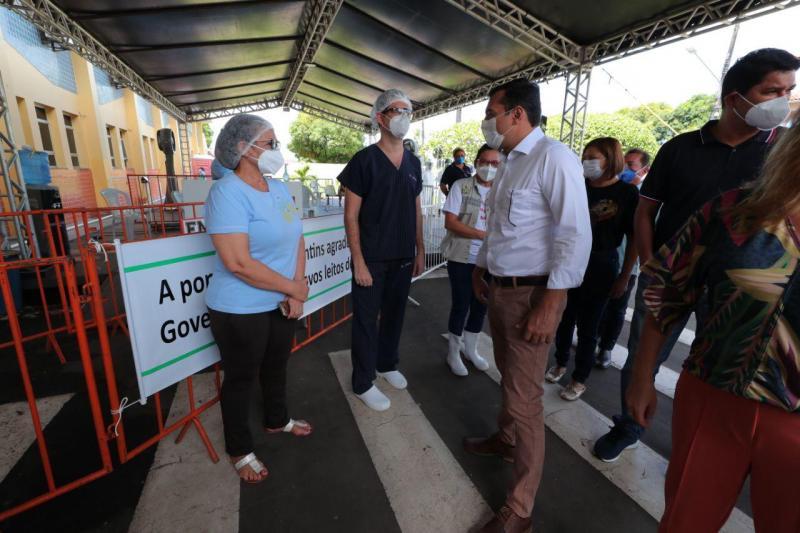 Wilson Lima entrega respiradores para o combate à Covid-19 em Parintins