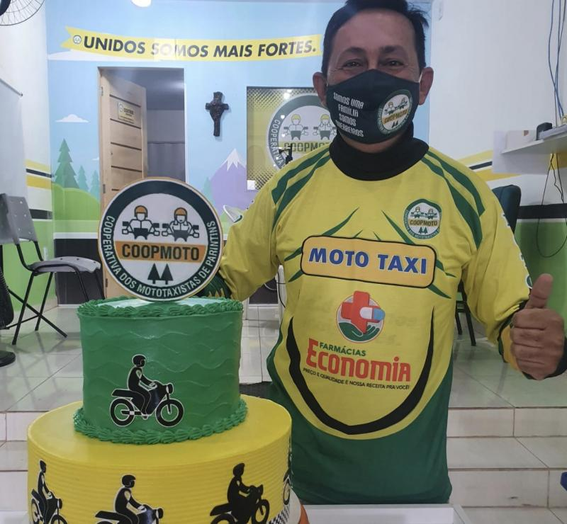 No dia municipal do mototaxista, Coopmoto realiza homenagem à categoria