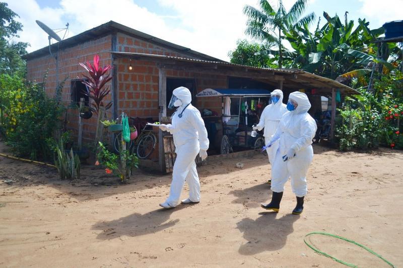 Parintins inicia busca ativa de idosos com coronavírus com testagens domiciliares
