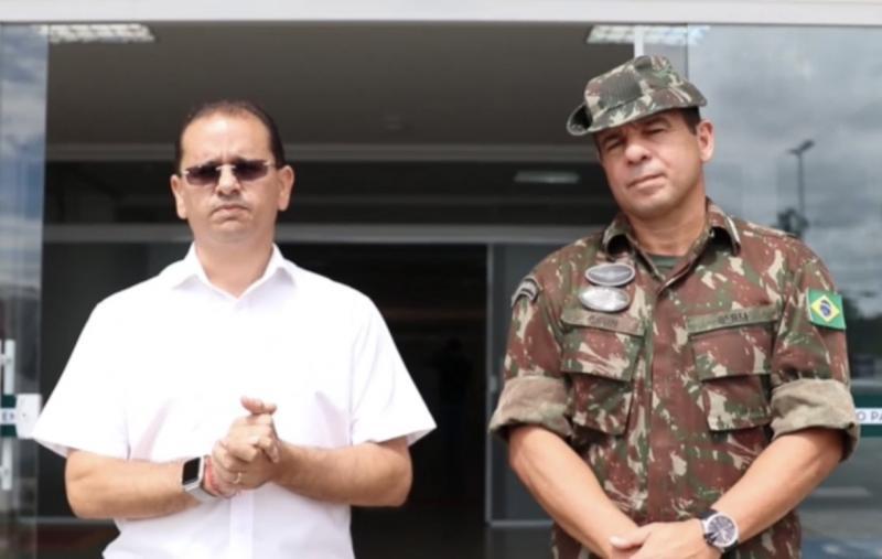 Samel diz que Prefeito de Manaus não permitiu retirada de equipamentos para serem doados a Roraima
