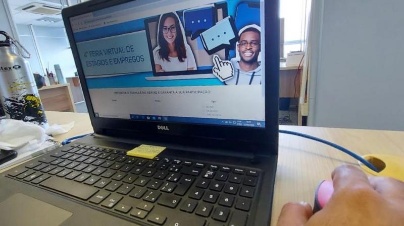 Estácio realiza 4ª Feira Virtual de Empregos e estágios