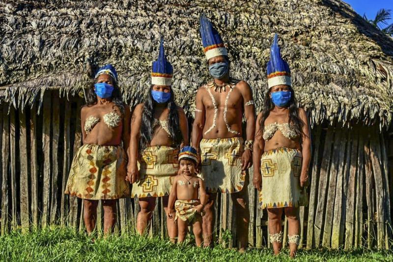 Taxas de contaminação e mortalidade de indígenas por Covid-19 na Amazônia superam média nacional