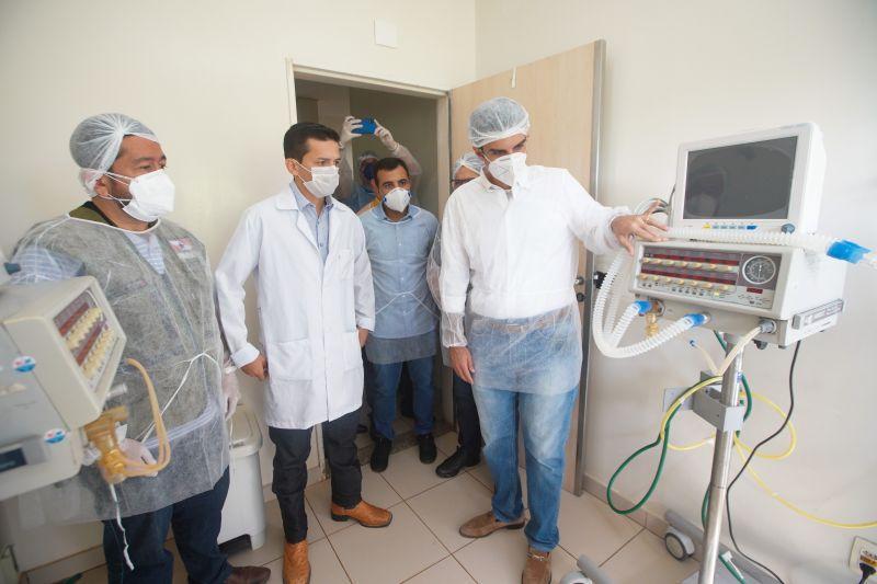 Governo do Pará entrega cinco respiradores ao Hospital 9 de Abril, em Juruti
