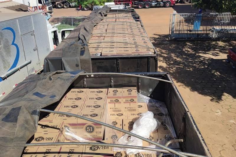 Caminhões com 144 toneladas de cachaça são apreendidos no Pará