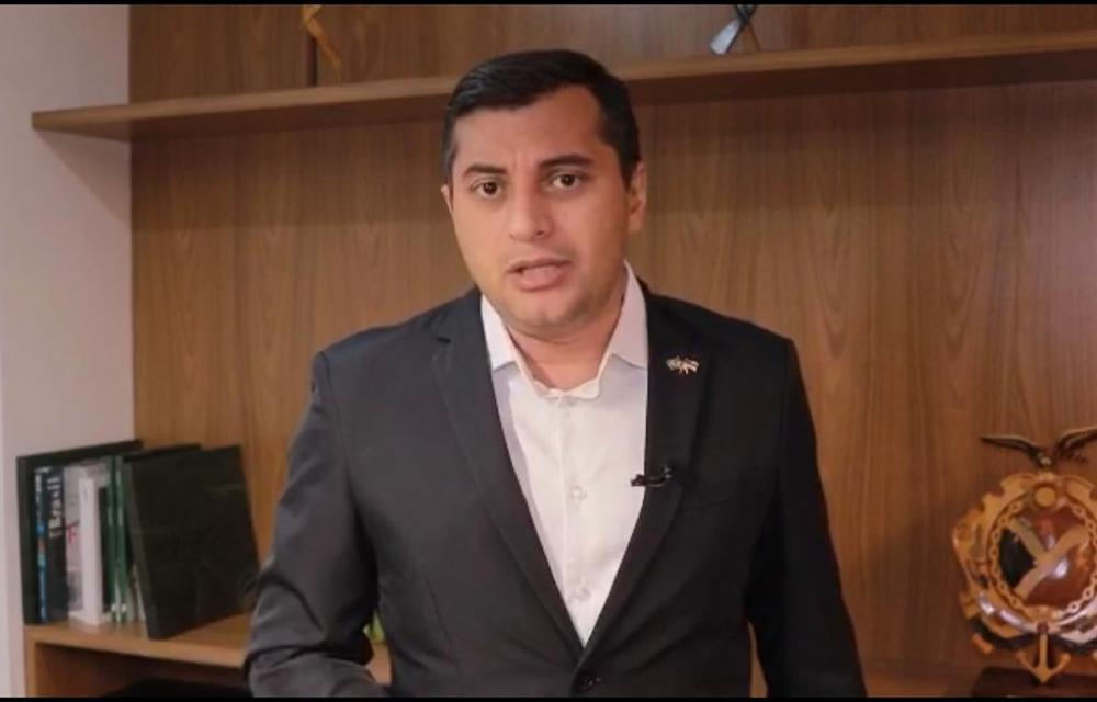Governador Wilson Lima afirma em vídeo que está tranquilo e quer fatos esclarecidos; assista