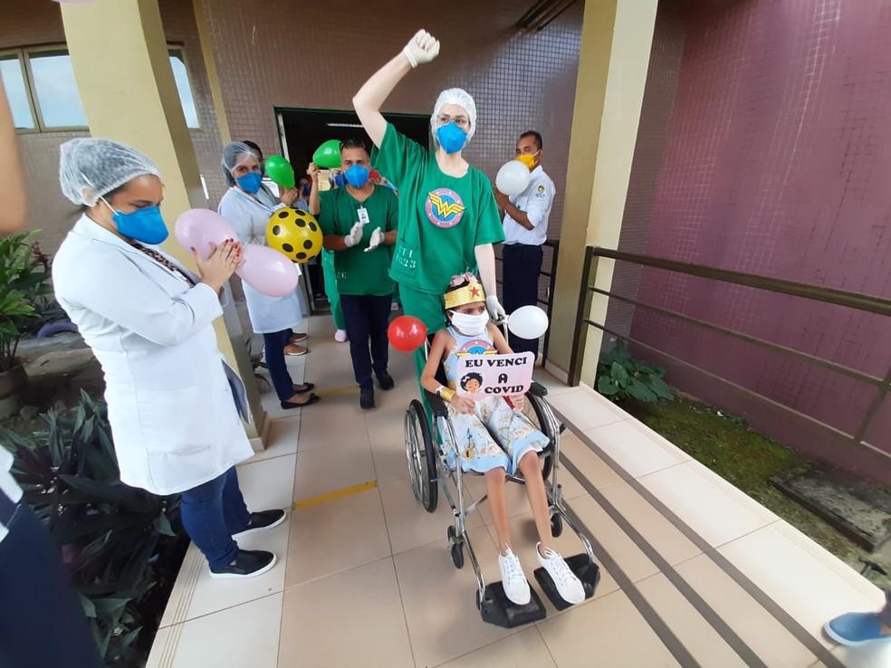 Mais de 100 pacientes se recuperaram da Covid-19 no Hospital Regional do Baixo Amazonas
