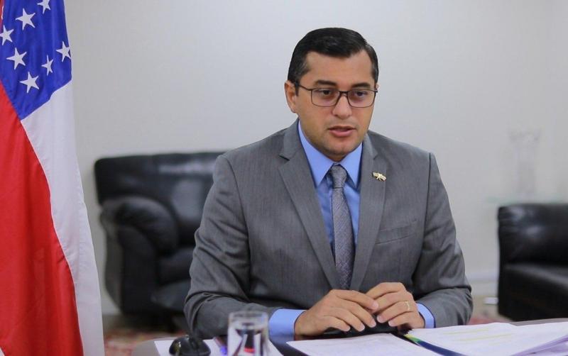 Wilson Lima reafirma compromisso com diálogo entre os poderes em posse da nova presidência do TJAM