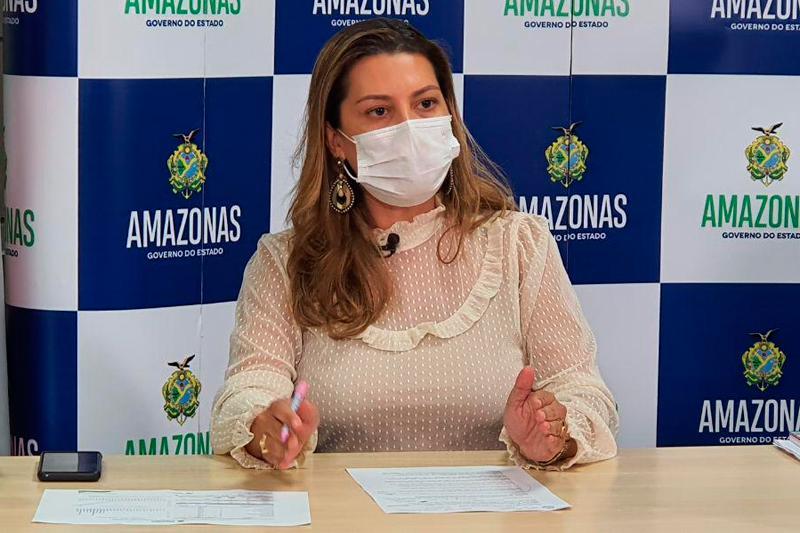 Wilson Lima exonera secretária de saúde e determina suspensão de pagamentos de contratos referentes à Covid-19