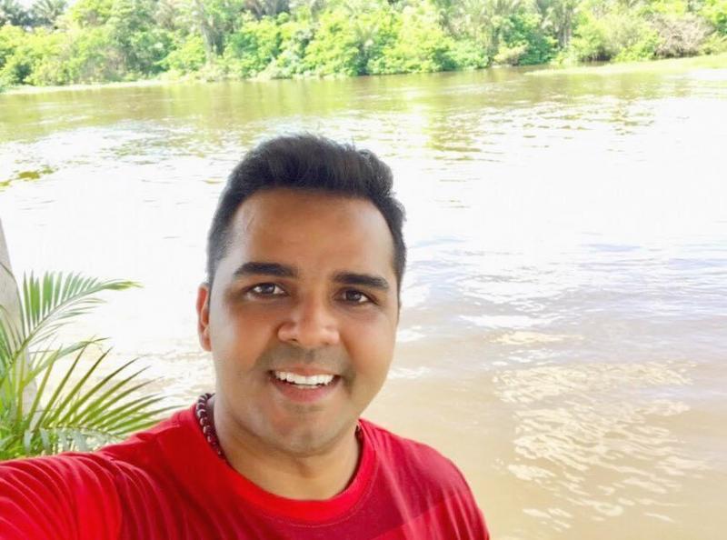 Israel Paulain anuncia pré-candidatura à prefeito de Nhamundá