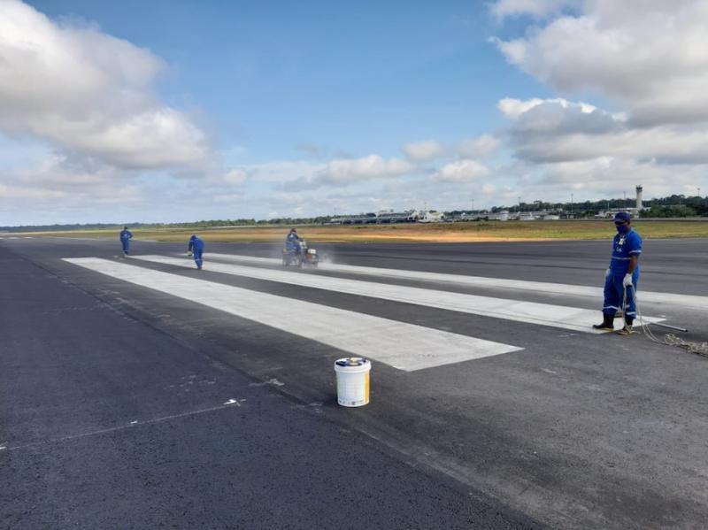 Após dois anos, Infraero anuncia conclusão de obras na pista do Aeroporto de Manaus