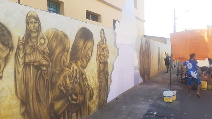 Mural da Fé terá show no sistema Drive-in no dia 15 de julho, em Parintins