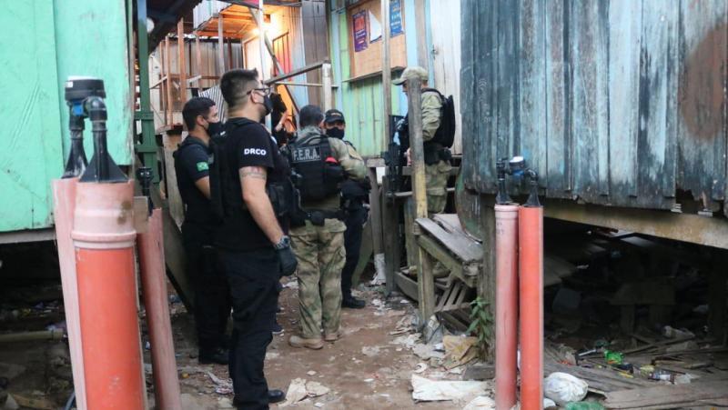 Seis suspeitos de integrar organização criminosa são presos durante Operação Beiradinho
