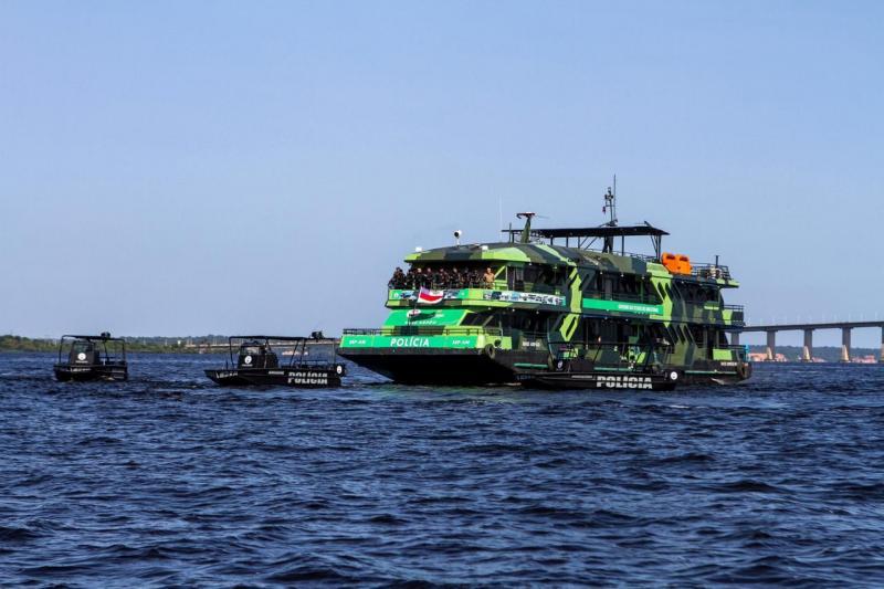 Amazonas reforça combate ao narcotráfico com Base Fluvial Arpão