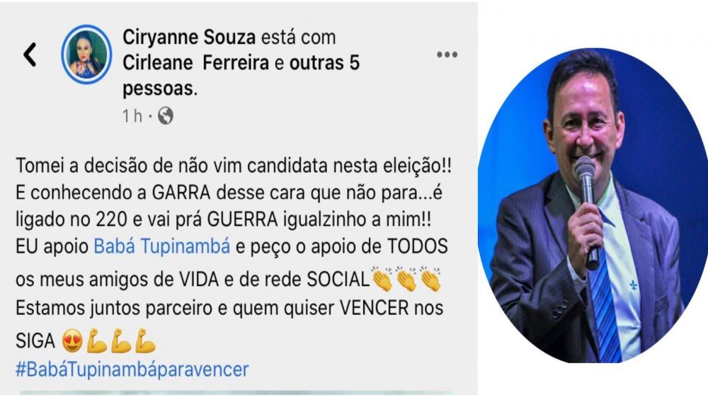 Pré-candidato a vereador em Parintins, Babá Tupinambá ganha apoio de eleitores nas redes sociais