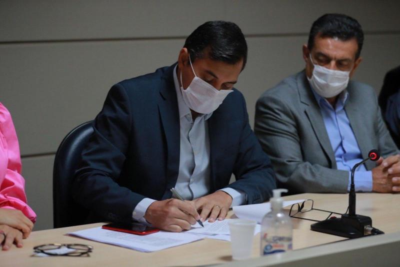 Wilson Lima convoca 323 aprovados em concurso da Polícia Militar do AM