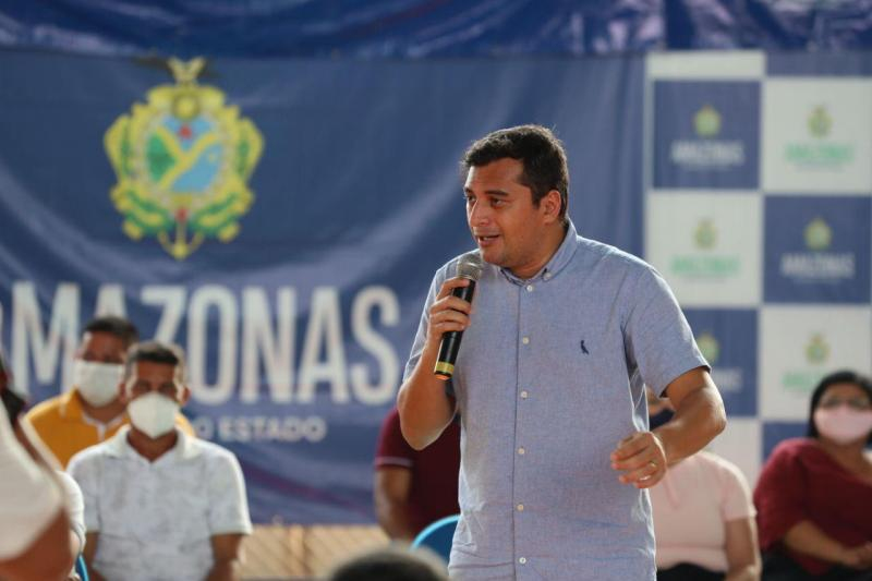 Wilson Lima anuncia construção de pontes para interligar Novo Aripuanã ao município de Apuí