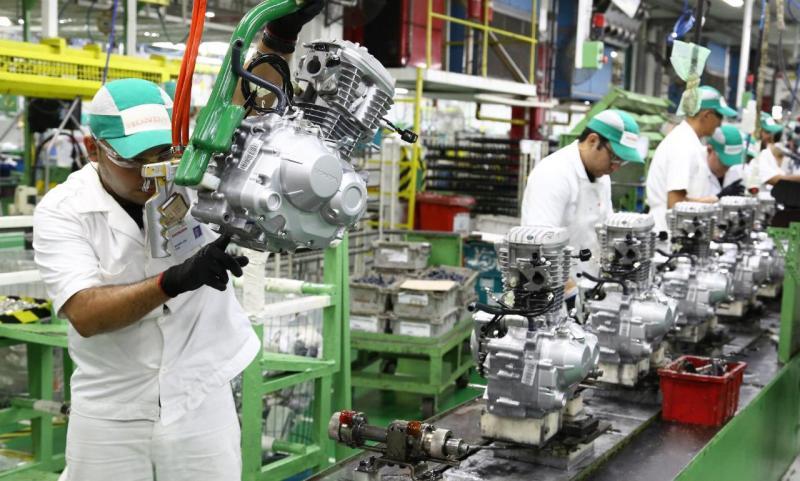 Amazonas registra alta de 65% na produção industrial e recupera perdas ocorridas na pandemia