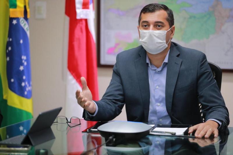 Governador do Amazonas, Wilson Lima testa positivo para Covid-19