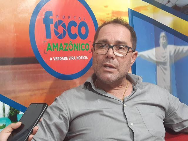 Pré-candidato Júnior Dutra busca vaga na Câmara Municipal de Manaus pelo PTB