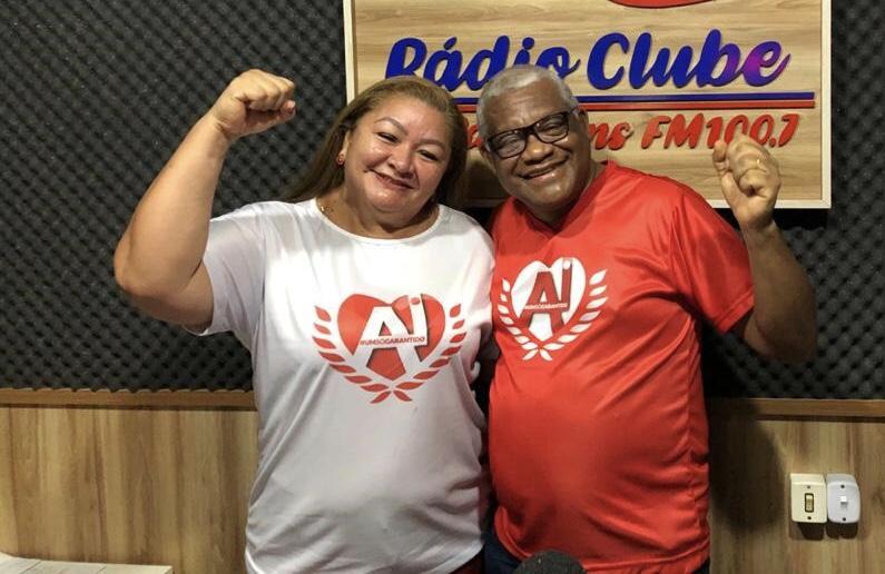 Antônio Andrade e Ida Silva apresentam suas propostas aos sócios e torcedores de Parintins