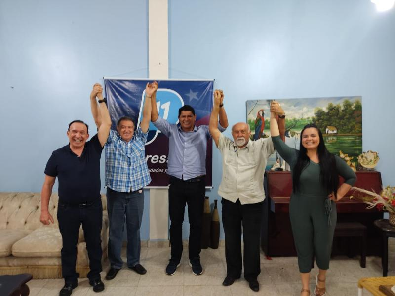 Partido Progressista declara apoio a reeleição de Bi Garcia em Parintins