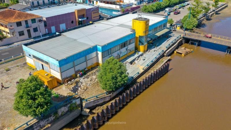 Saullo Vianna pede urgência na reativação do Porto de Parintins
