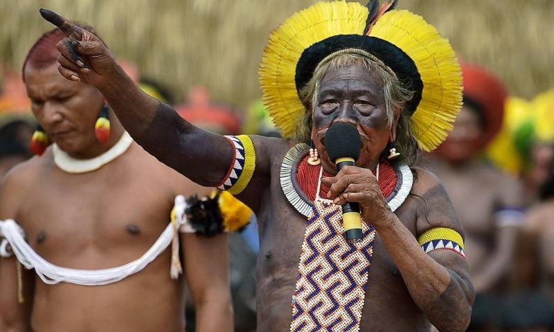 Líder indígena, cacique Raoni é internado com Covid-19 em Mato Grosso