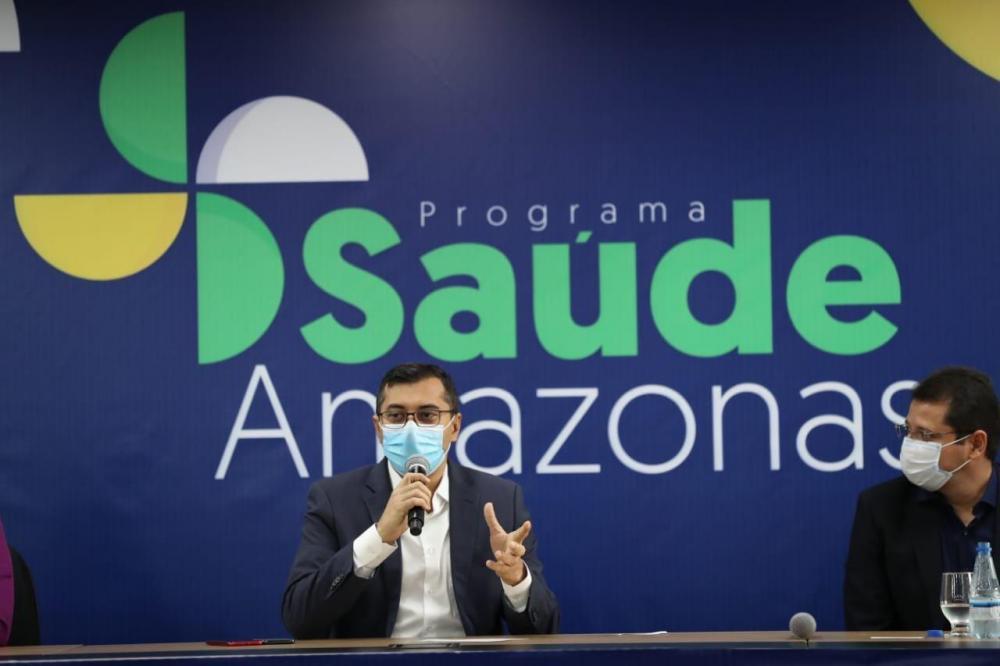 Wilson Lima lança o 'Saúde Amazonas', que vai reduzir filas e modernizar a rede de assistência