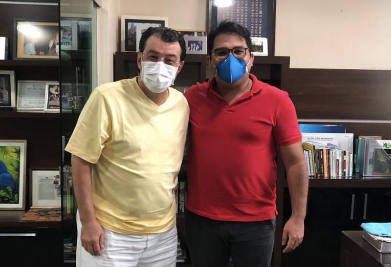 Neto Cardoso cumpre agenda com Braga em busca de apoios para sua pré-candidatura em Parintins