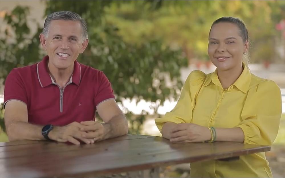 Juscelino e Nêga confirmam convenção eleitoral para o dia 7 de setembro, em Parintins