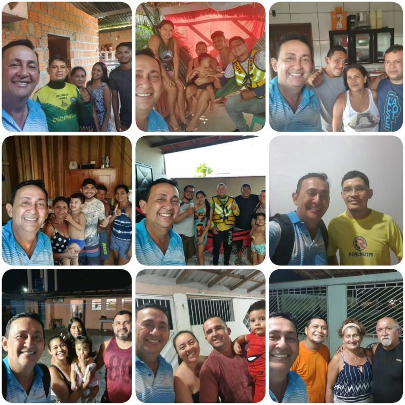 Babá Tupinambá continua recebendo apoios em sua pré-candidatura em Parintins