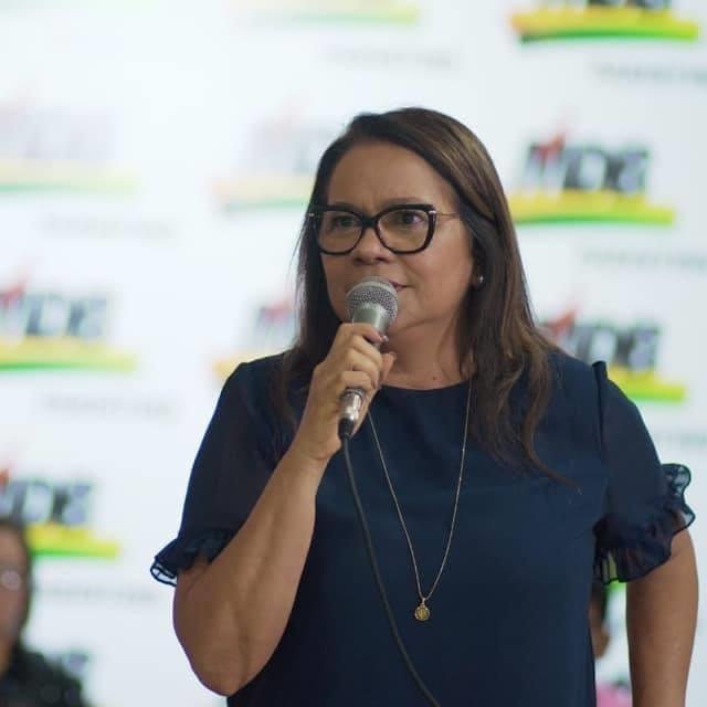 MDB de Márcia Baranda marca convenção partidária para o próximo dia 15 de setembro