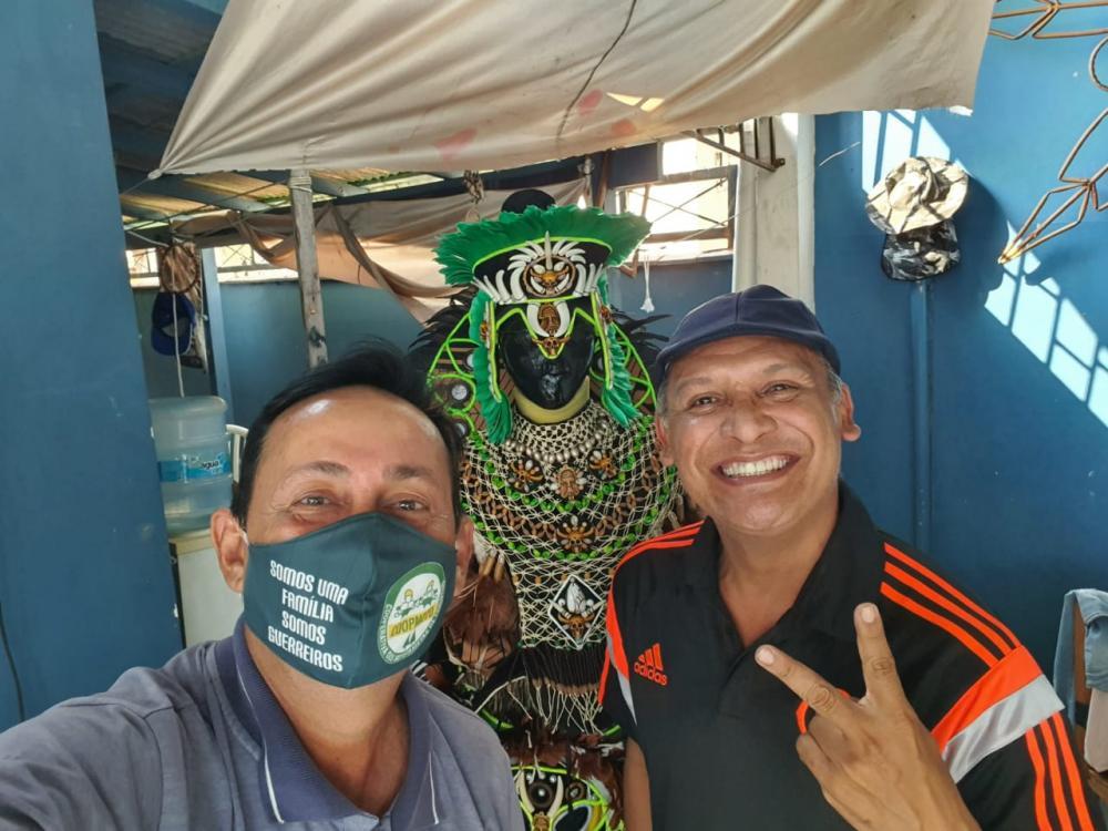 Ex-pajé do Caprichoso declara apoio à Babá Tupinambá como pré-candidato a vereador