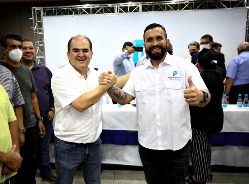 Ricardo Nicolau anuncia o médico George Lins como vice em Manaus