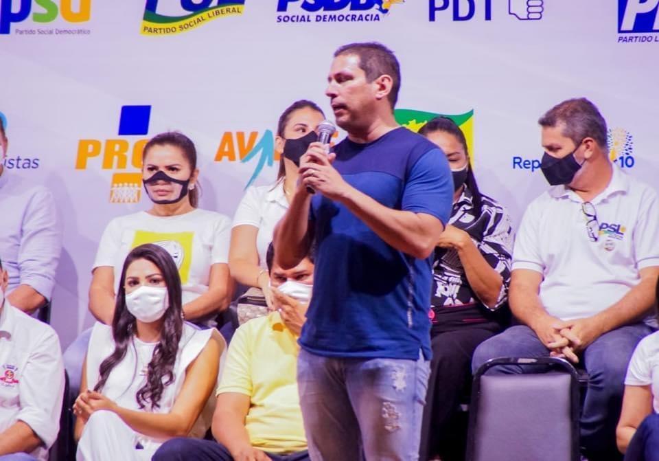 Deputado Marcelo Ramos testa positivo para Covid-19; esteve no domingo (13) em Parintins
