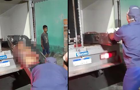 Após esfaquear 'rival', homem é 'caçado' e morto a tiros em Manaus