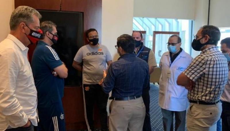 Autoridades sanitárias do Equador fecham estádio que seria palco Barcelona x Flamengo