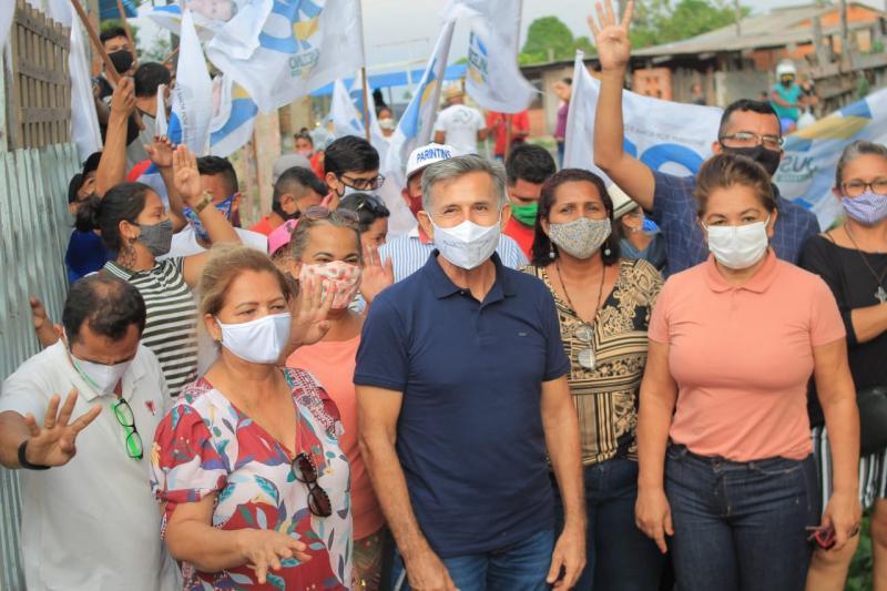 Juscelino Manso cumpre agenda no Itaúna 1 e recebe apoio de moradores